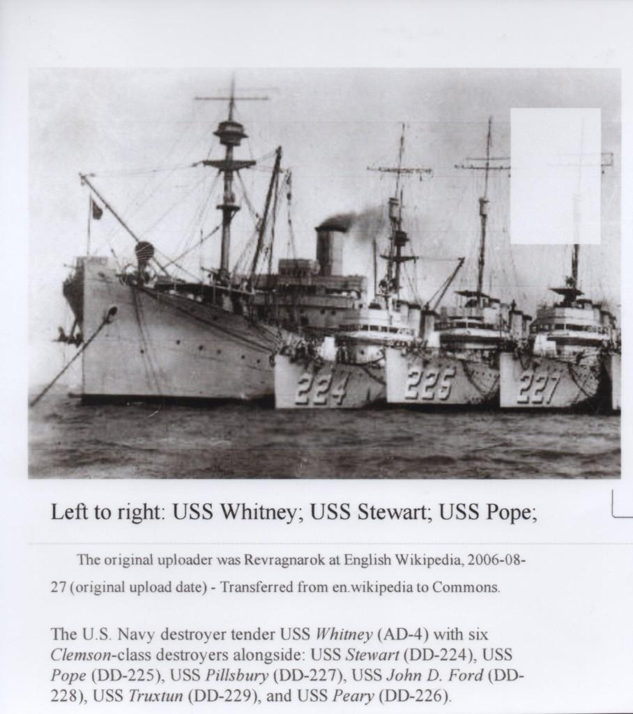 USS Stewart DD 224