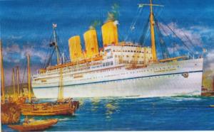 Empress of Japan in Port Shanghai