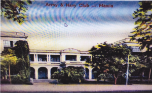 The Army and Navy Club of Manila